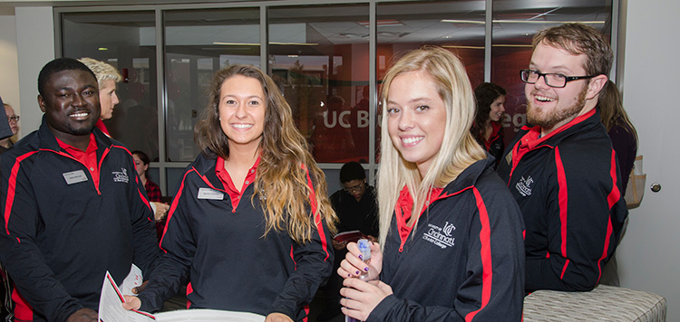 Ambassadors at UC Blue Ash College